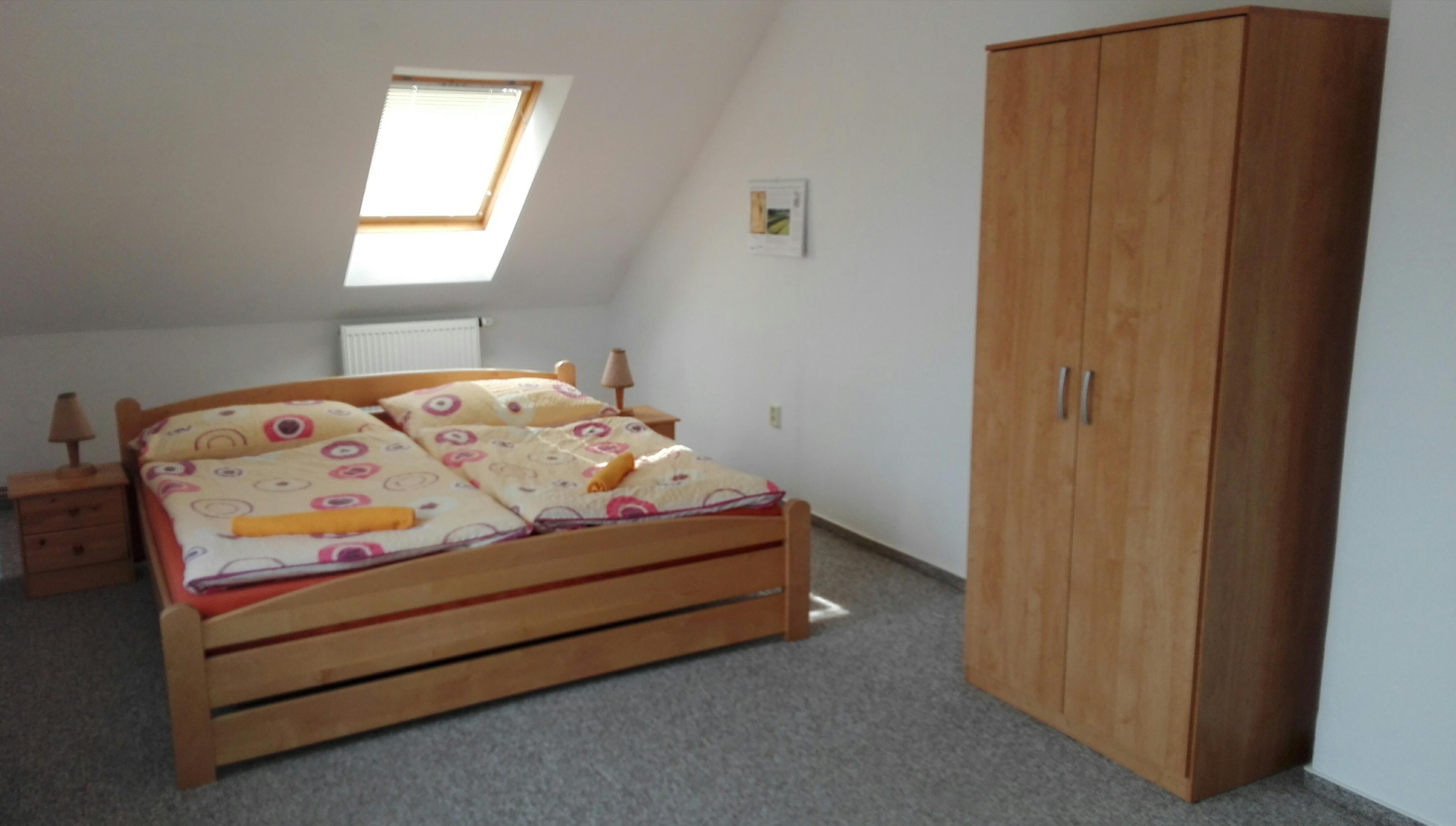 ložnice č.2  s balkonem v podkroví