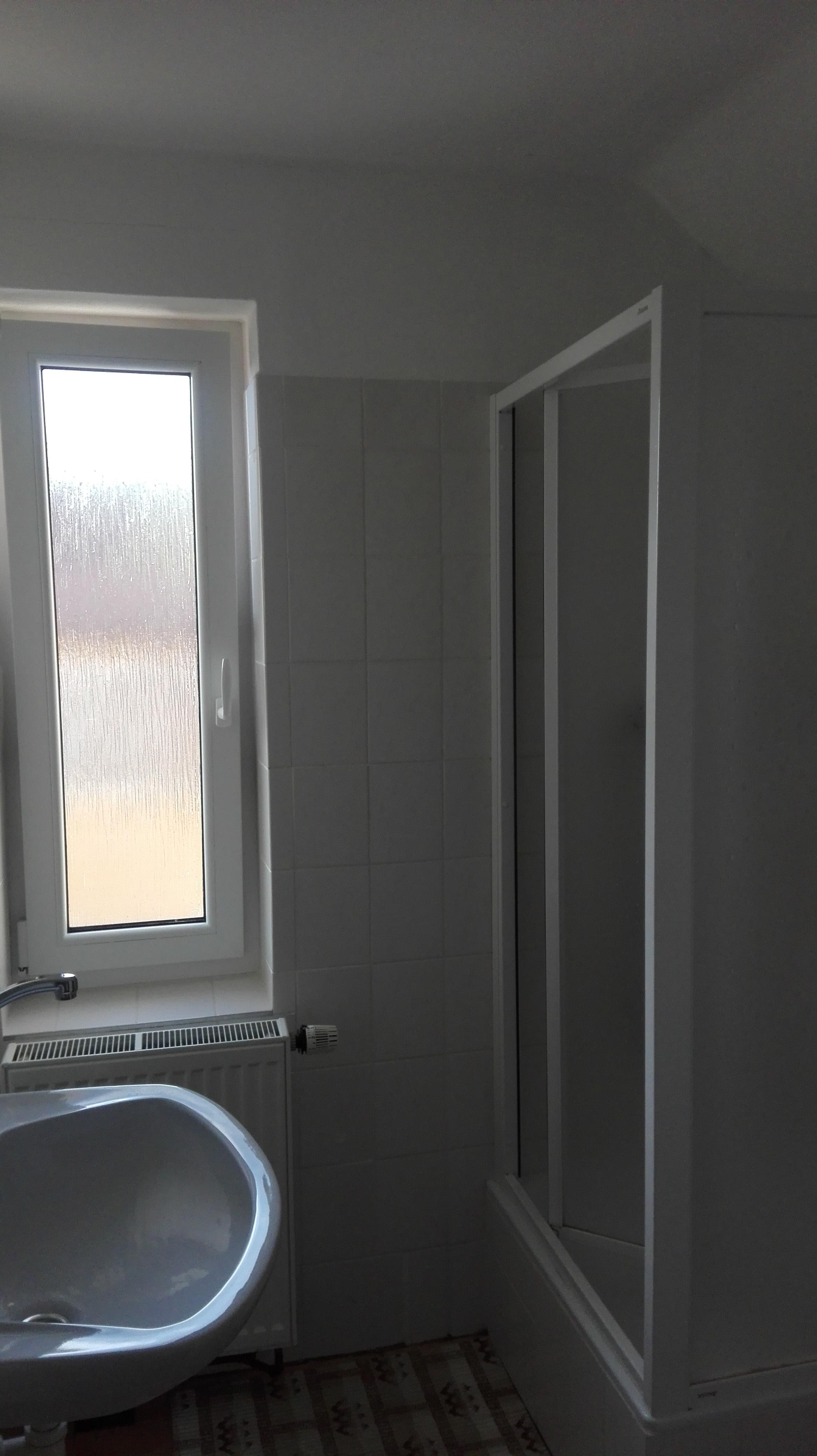 Sprcha a WC podkroví